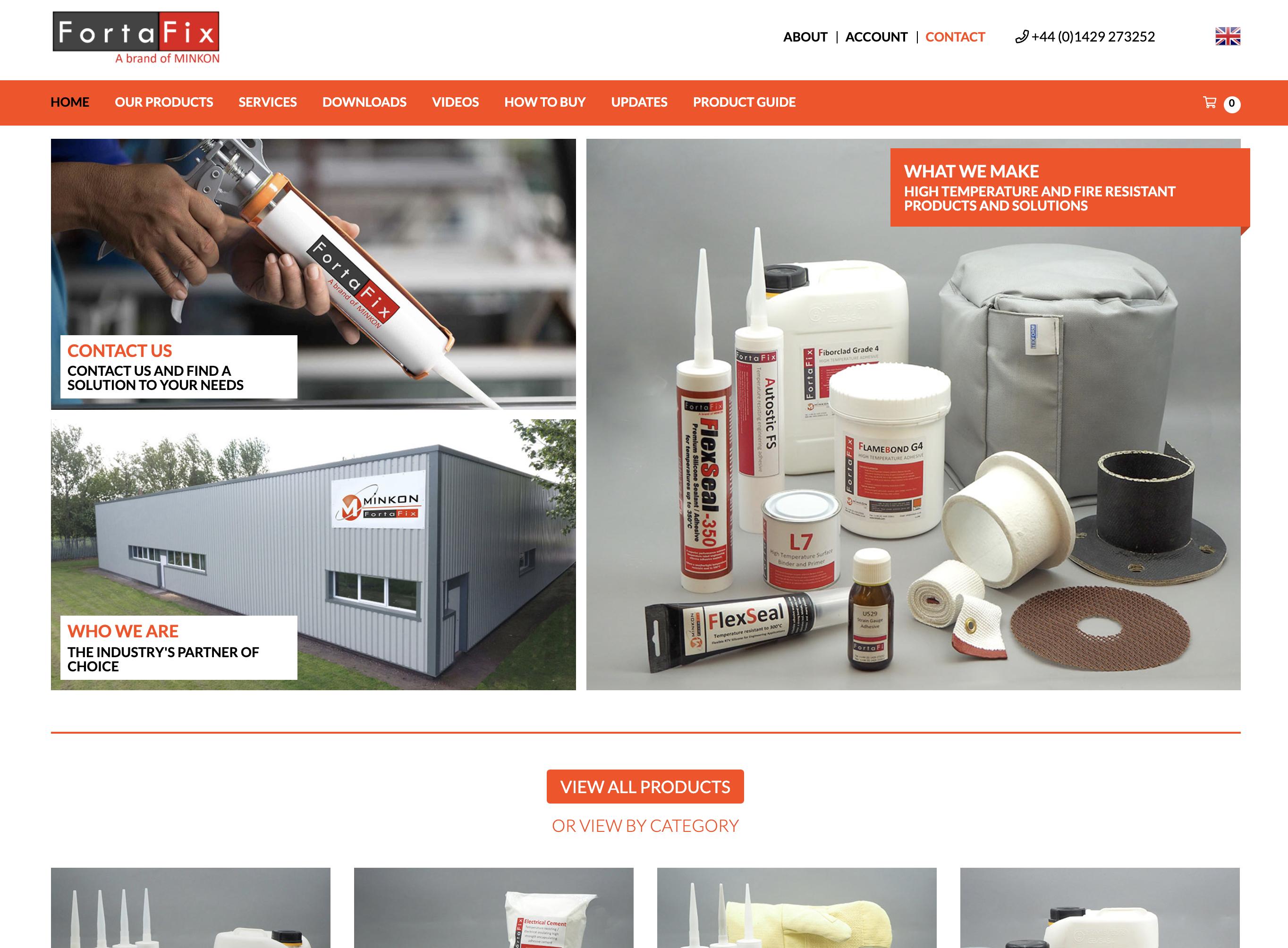 Fortafix Website